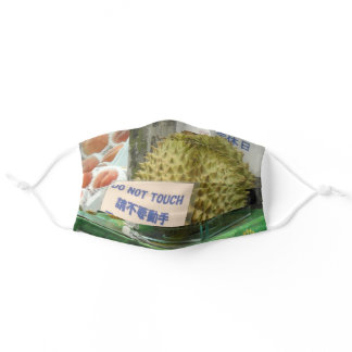 Durian mask: DO NOT TOUCH! Adult Cloth Face Mask