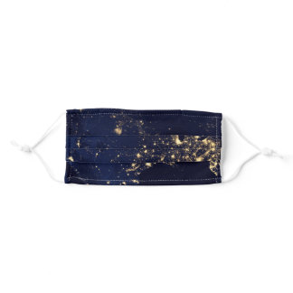 earth space adult cloth face mask