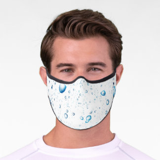 Easily personalize with a text premium face mask