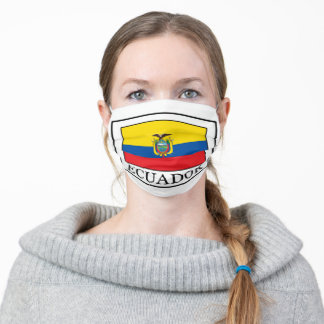 Ecuador Adult Cloth Face Mask