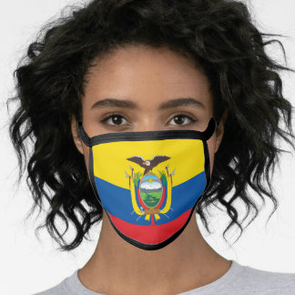 Ecuador & Ecuadorian Flag Mask - fashion/sports