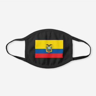 Ecuador Flag Cotton Face Mask