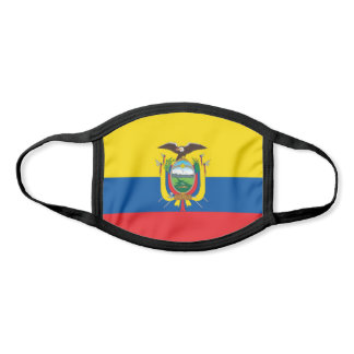 Ecuador Flag Face Mask