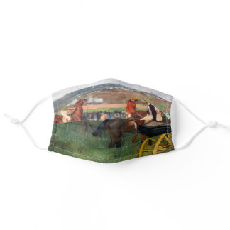 Edgar Degas - At the Races Adult Cloth Face Mask