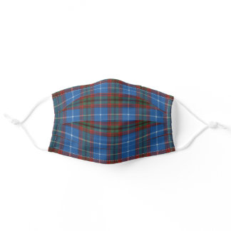 Edinburgh Original Scottish Tartan Adult Cloth Face Mask