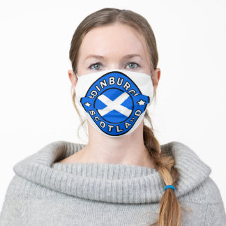 Edinburgh Scotland Adult Cloth Face Mask