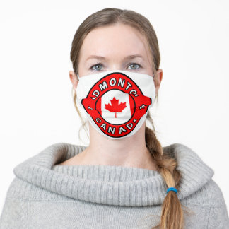 Edmonton Canada Adult Cloth Face Mask
