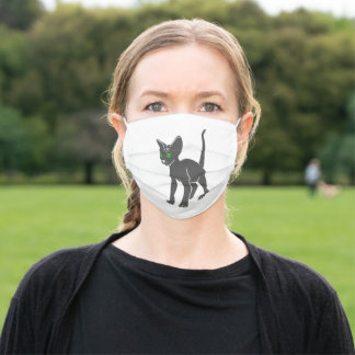 Egyptian  cat  baby adult cloth face mask