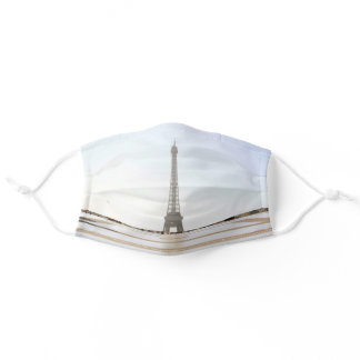 Eiffel tower mask, France Adult Cloth Face Mask