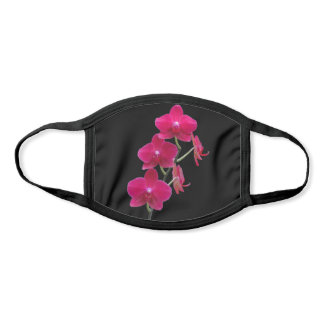 Elegant Women's - Ruby Red Orchids All Over Print Face Mask