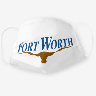 Emblem of Fort Worth (Texas) Cloth Face Mask