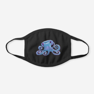 Emma the Octopus Cotton Face Mask
