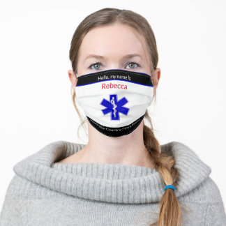 EMS Department County Fire and Rescue Adult Cloth Face Mask