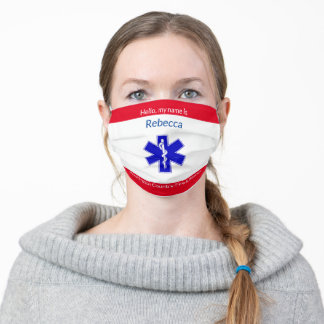 EMS Star Life Symbol Cloth Face Mask