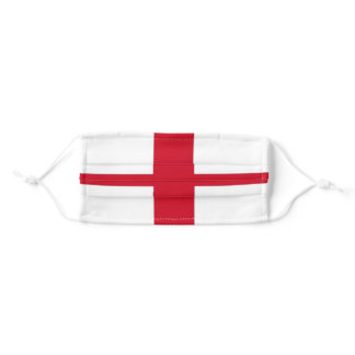 England Flag English Flag Patriotic Adult Cloth Face Mask