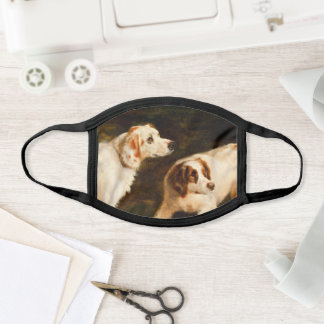 English Setters Retriever Sporting Dogs Face Mask