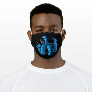 Enjoy coffee in space adult cloth face mask