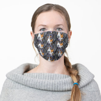 Entlebucher Mountain Dog Patterned Adult Cloth Face Mask
