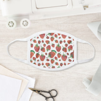 Eric Carle | Caterpillar and Strawberry Pattern Face Mask