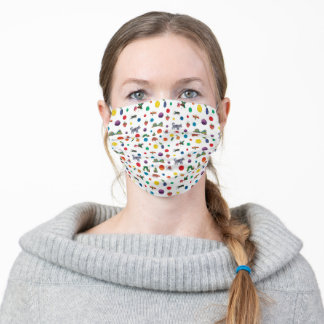 Eric Carle | Eric Carle Animals Pattern Adult Cloth Face Mask