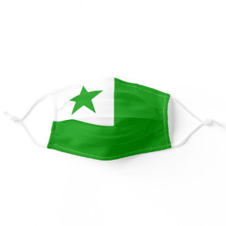 Esperanto Flag Adult Cloth Face Mask