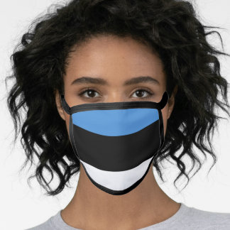 Estonia & Estonian Flag Mask - fashion/sports fans