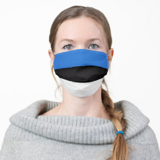 Estonia Flag Adult Cloth Face Mask