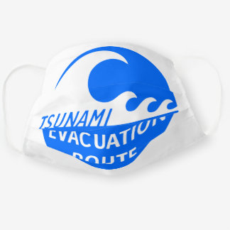 Evacuation Route Highway sign Cloth Face Mask