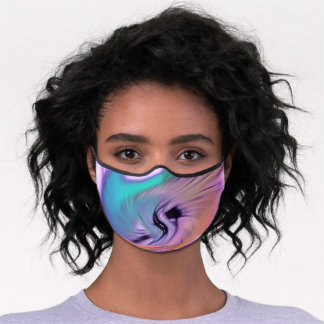 """""""Everyone's Abstract #10"""" Premium Face Mask"""
