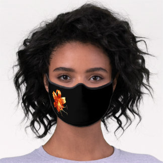 Executive Women's  Tiger Lily Premium Face Mask