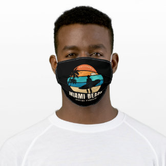 Extreme sport bicycle motocross rider adult cloth face mask