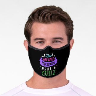 Fabric Floozy Sewing Quilting Crocheting Premium Face Mask