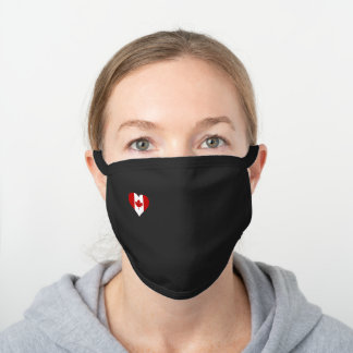 Face mask Canada Flag
