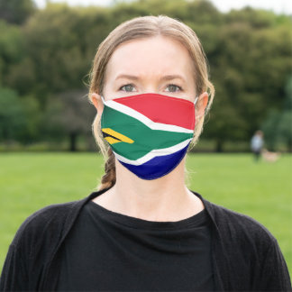 Face Mask South Africa National Flag