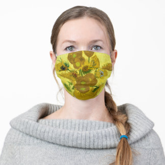 Face Mask - Sunflowers