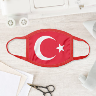 Face mask Turkey Flag