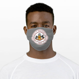 * Face Mask w/PMC SEAL LOGO (polyester)