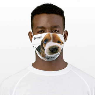 Face Mask with Beagle - A nose on four legs