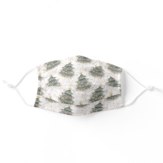 face mask with disposable mask insert slot xmas