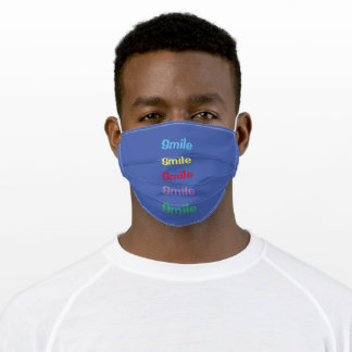 Face mask ( with smiles ) different colors
