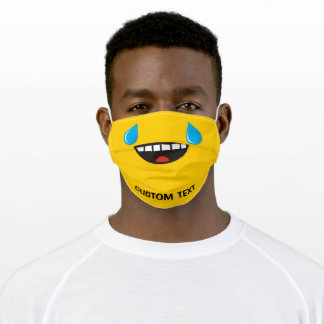 Face With Tears of Joy Adult Cloth Face Mask