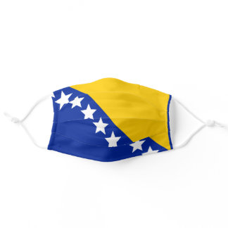 Facial mask Bosnia Flag