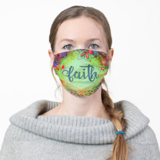 """Faith"" Inspirivity Adult Cloth Face Mask"