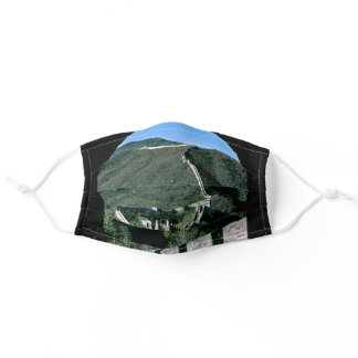 Famous Great Wall of China - Beijing, Asia Adult Cloth Face Mask