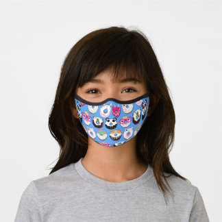 Fancy Dressed Donuts Premium Face Mask
