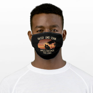 Father And Son Fishing Friends For Life Father's Adult Cloth Face Mask