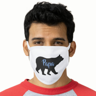 Father Bear Design Face Mask