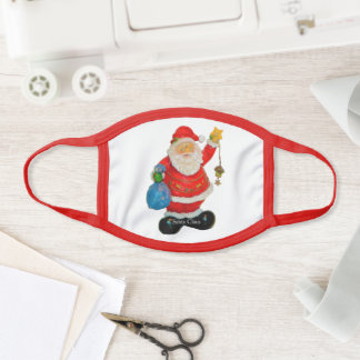 Father Christmas Cute Santa Claus Funny Christmas Face Mask