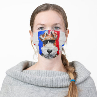 Fearless Wire Fox Terrier Face Mask