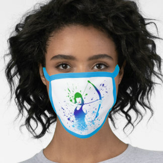 Female Archer Face Mask